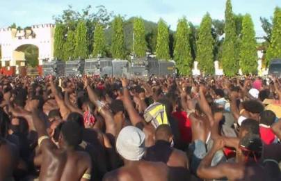Aksi Massa KNPB